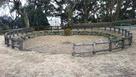 朝日山城 馬洗池跡