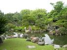 黒書院から見た二の丸庭園…