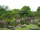 大広間から見た二の丸庭園…