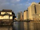 辰巳櫓とパレスホテル…
