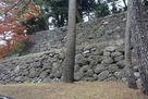 江戸城野面積み石垣…