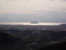 小谷城から眺める琵琶湖…