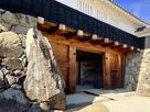 松本城 太鼓門の玄蕃石…