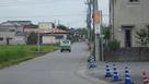 城下町の道