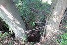 詰の丸東側井戸跡…