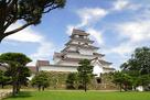 赤瓦の会津若松城…