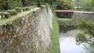 廊下橋と石垣