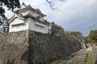 東南隅櫓と堀