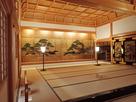 篠山城、上段の間大床「老松図」…