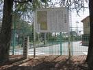 佐和良義神社横の城跡碑…