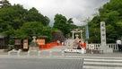 武田神社入口です…