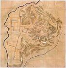 常陸国笠間之城絵図…