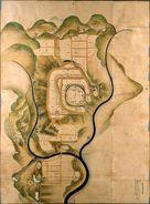 信州高遠城之絵図…