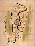 遠州掛川城絵図…