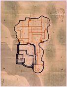 三河国西尾城絵図…