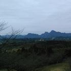 本丸から見た妙義山