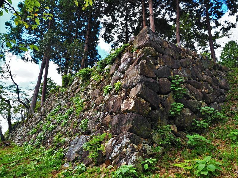 石垣(出丸)