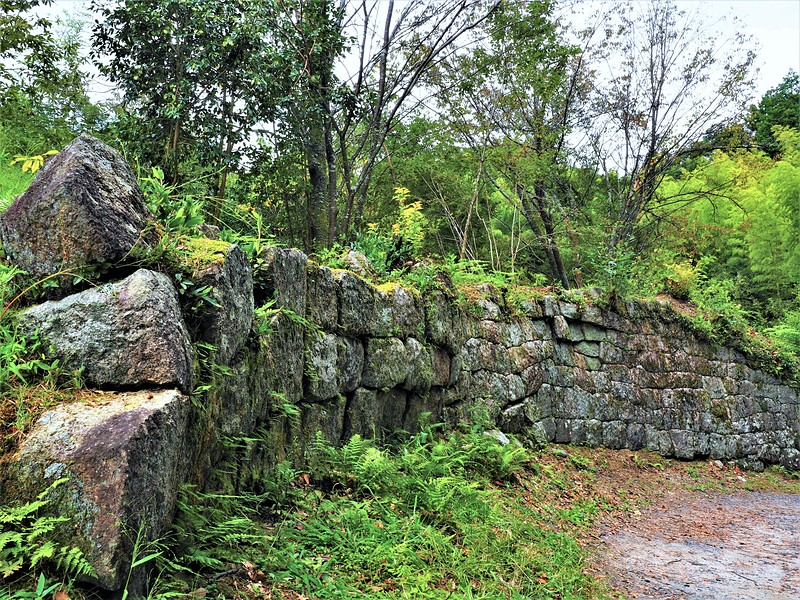 足軽長屋の石垣