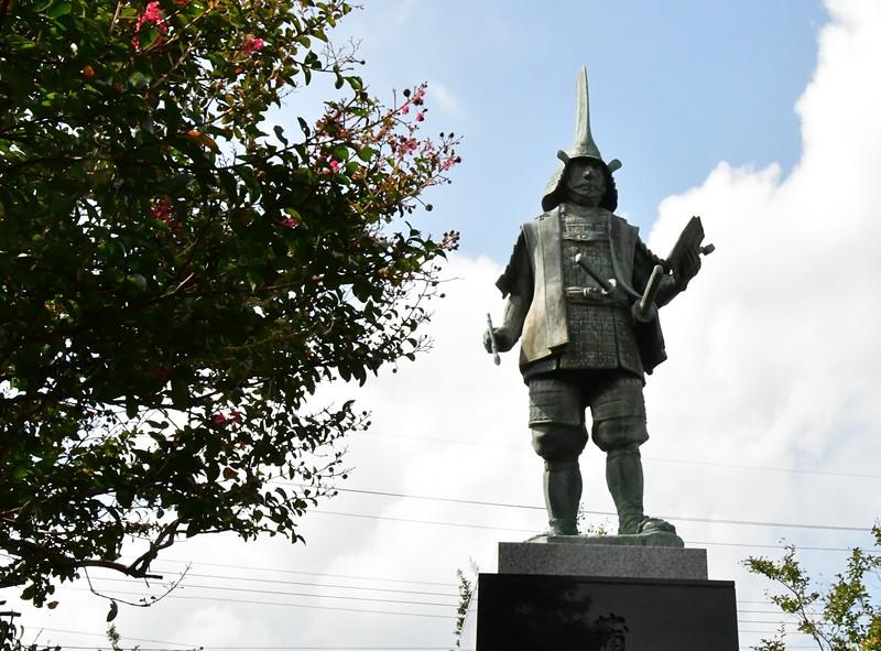 蒲生氏郷公 銅像