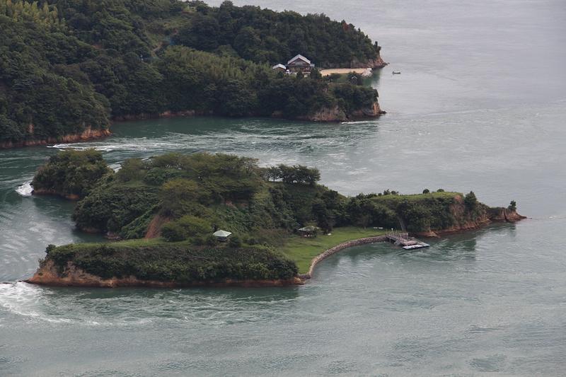 能島城遠景