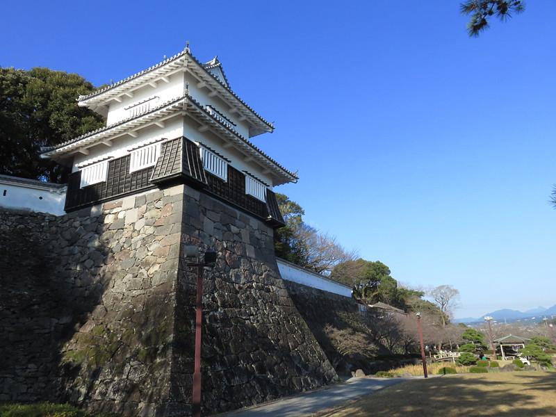 板敷櫓(西側から)