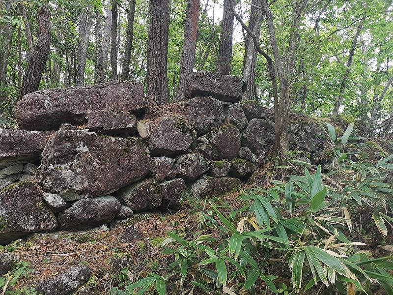石垣(東側虎口)