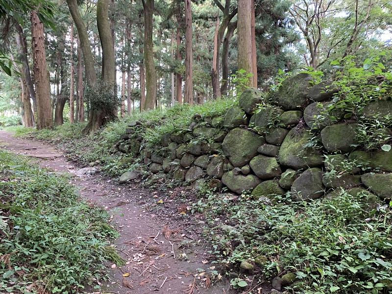 石垣@三の丸門跡