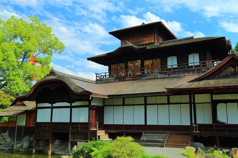 飛雲閣(西本願寺)[京都新城]
