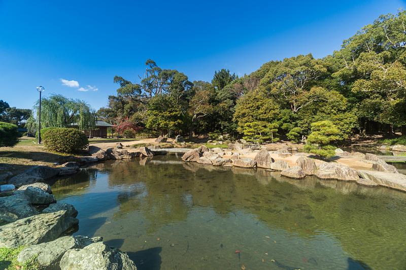 武蔵の庭園(乙女池)[明石城]