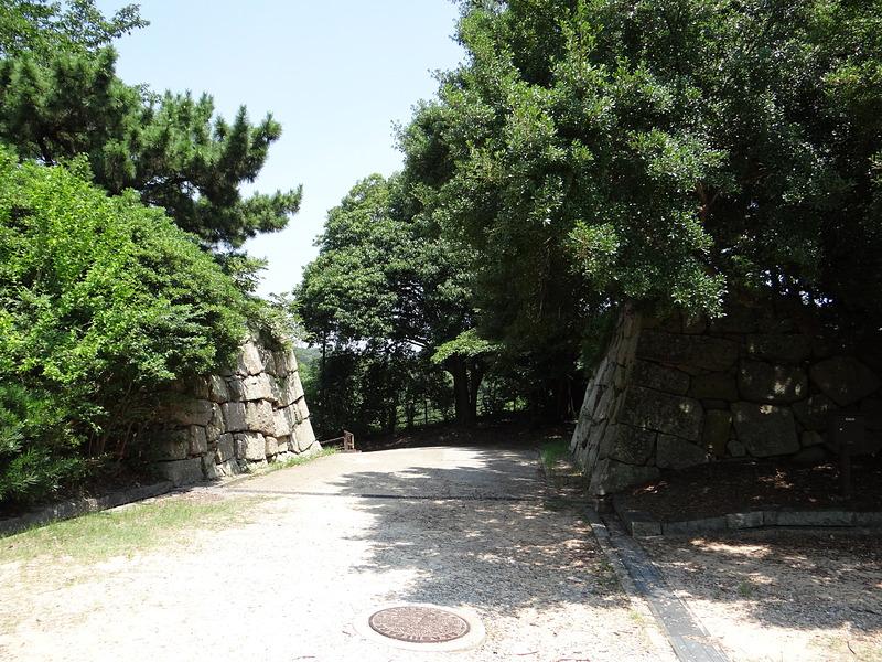 見ノ門(本丸内側から)[明石城]