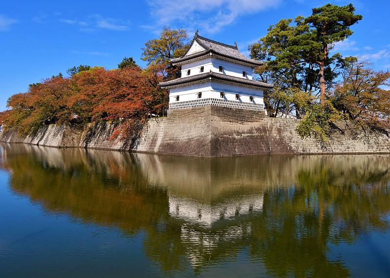 旧二の丸隅櫓(鉄砲櫓跡移築)