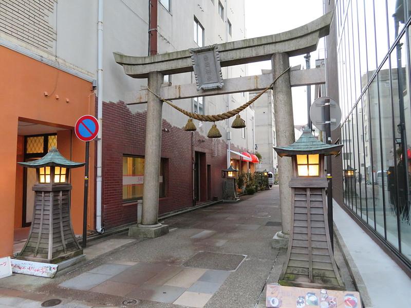 柴田神社参道