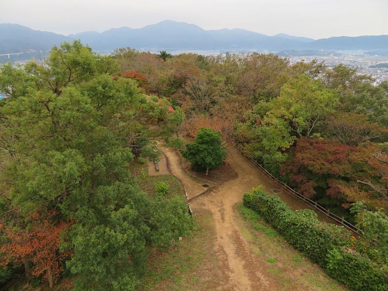 天筒展望広場(展望台から西側景色)