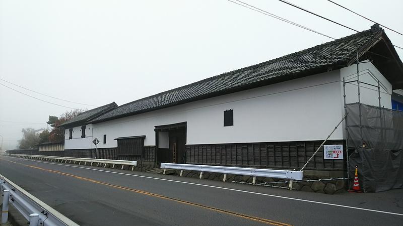 移築門(山田家資料館入口)(36.736194,138.345230)