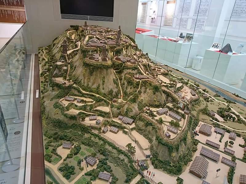 内城復元模型(ジオラマ)