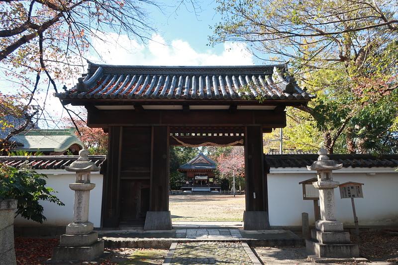 移築城門(膳所神社)