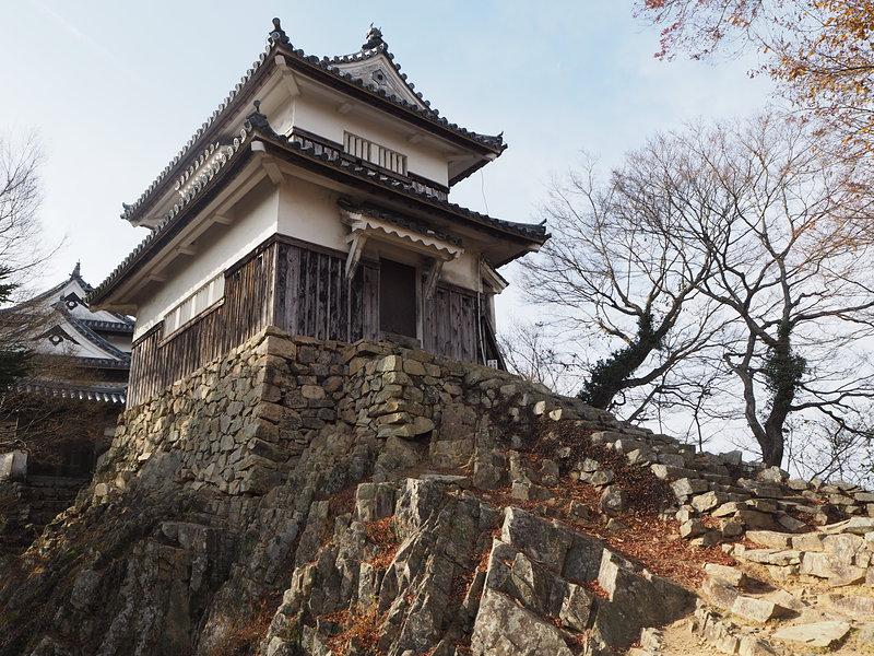 二重櫓(搦め手側から)[備中松山城]