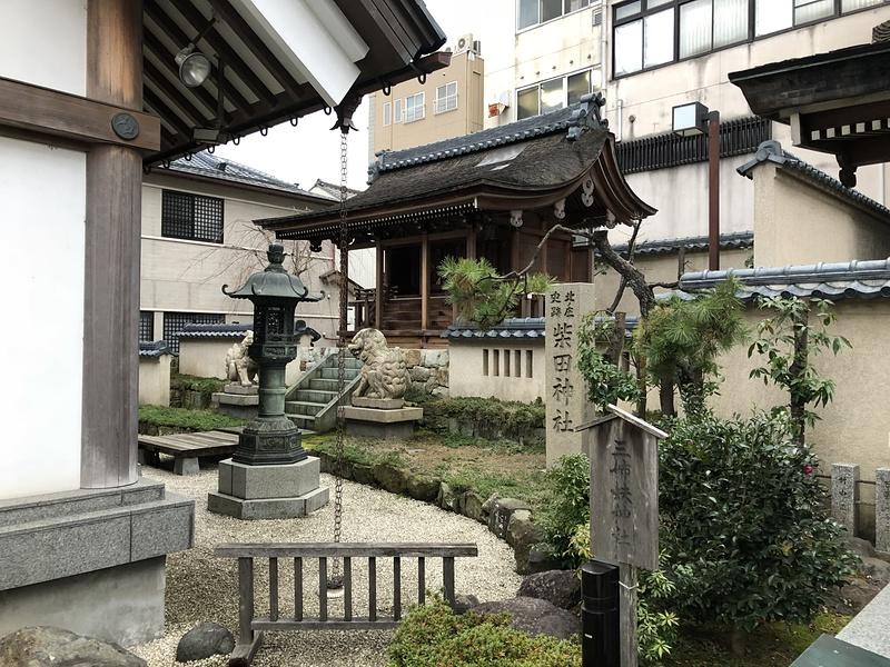 柴田神社奥殿