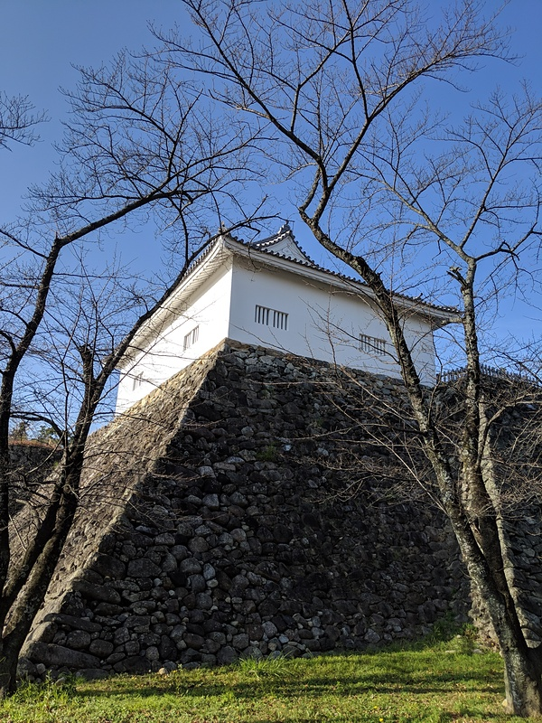 多門櫓と石垣