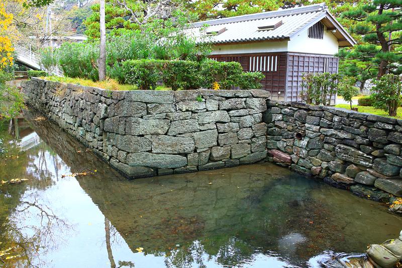 三木曲輪西部の石垣