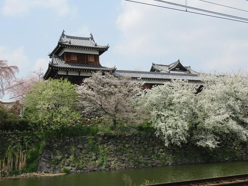 東隅櫓と石垣