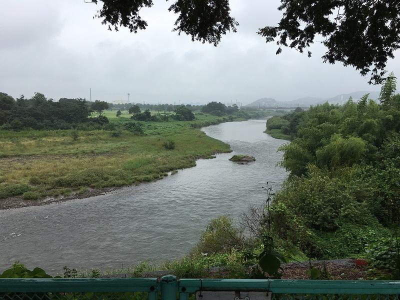 烏川の流れ