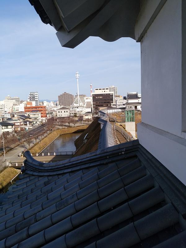 富士見櫓から清明台櫓