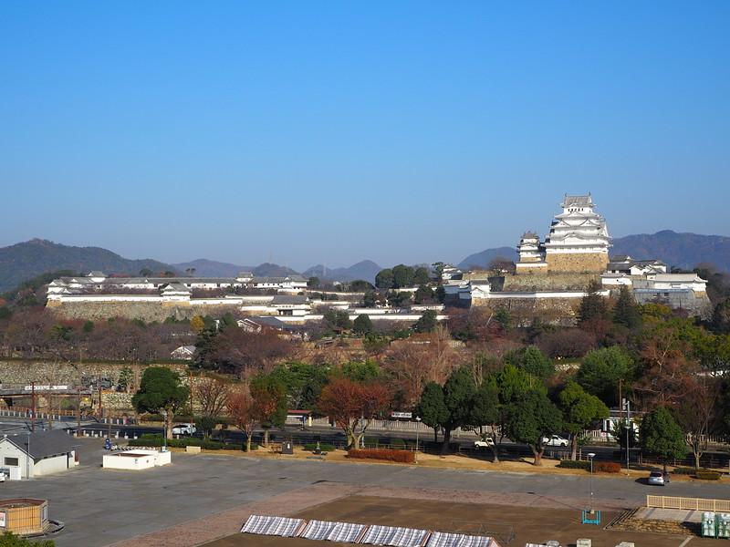 姫路城遠景(イーグレひめじより撮影)