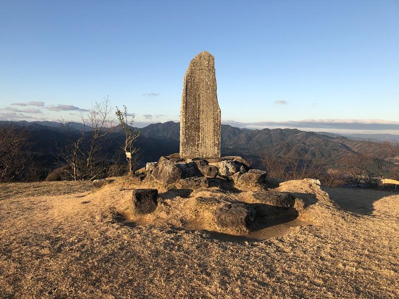 主郭の石碑