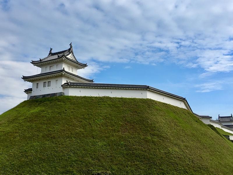清明台と富士見櫓