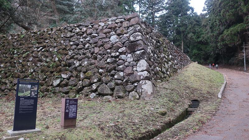 清水門跡石垣