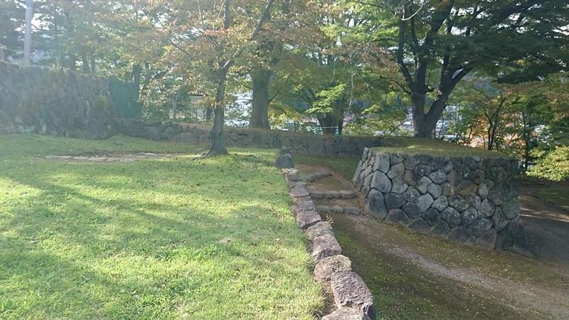 本丸虎口の桝形