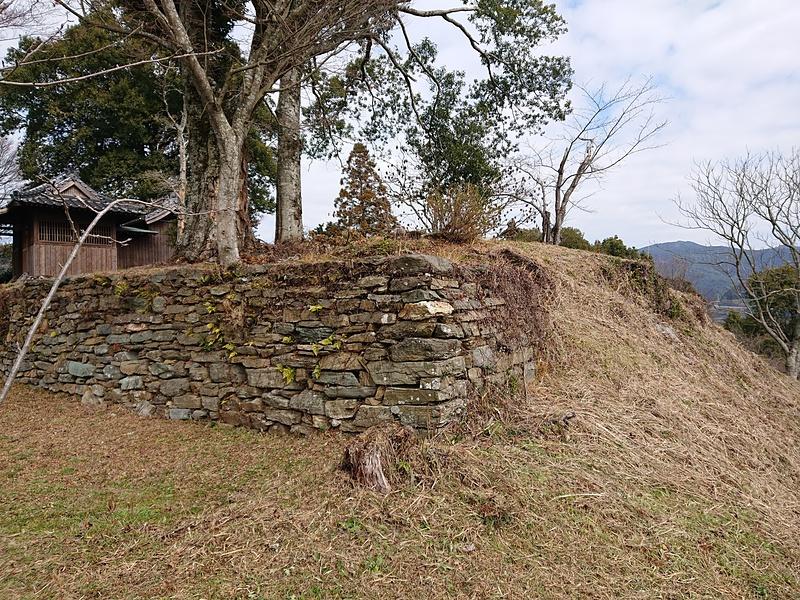 本丸東側巽櫓台石積