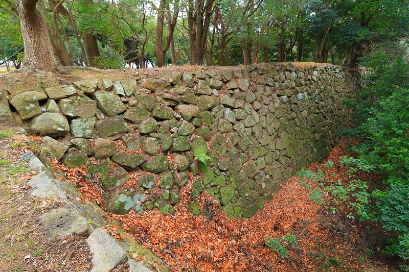 東の丸北面石垣